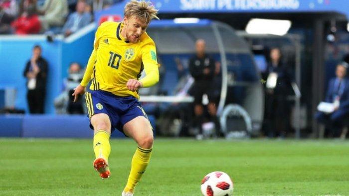 Hasil Swedia vs Swiss: Emil Forsberg AntarBlagultke Babak Perempat Final Piala Dunia 2018