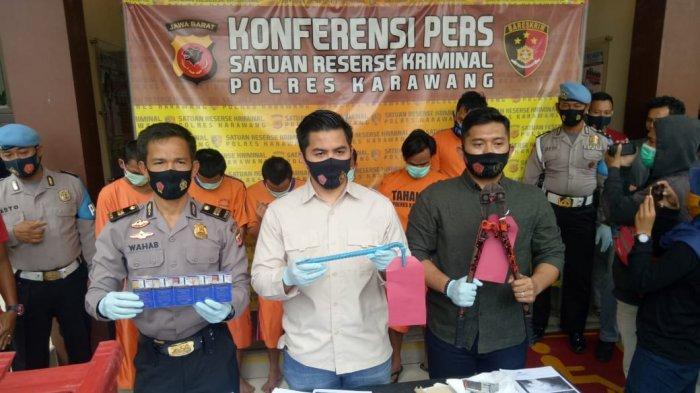 Empat Pembobol Minimarket Disergap, Seorang Ditembak, Beraksi di Karawang Dibekuk di Jakarta