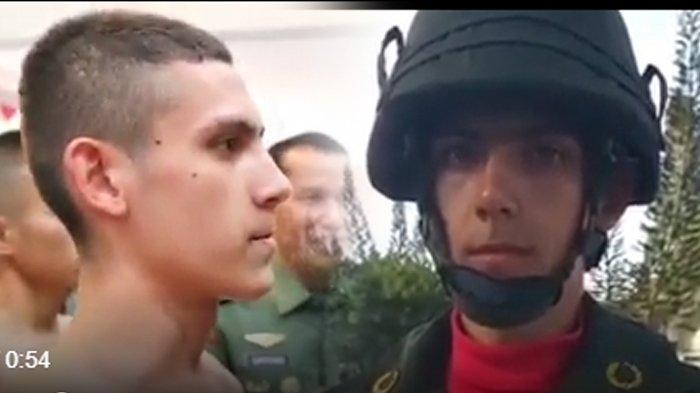 Enzo Zenz Allie Perwira TNI Keturunan Prancis Ditanya Menhan, Perlakuan Prabowo Subianto Tak Terduga