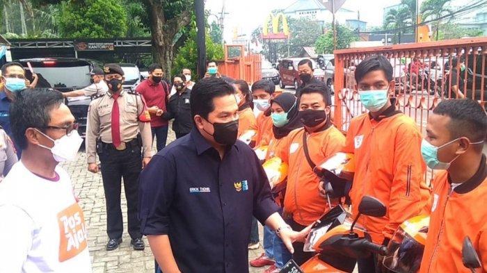 Tersebar di Tanah Air, Erick Thohir Sebut Aset Pos Indonesia Bisa Jadi Pusat Distribusi E-commerce