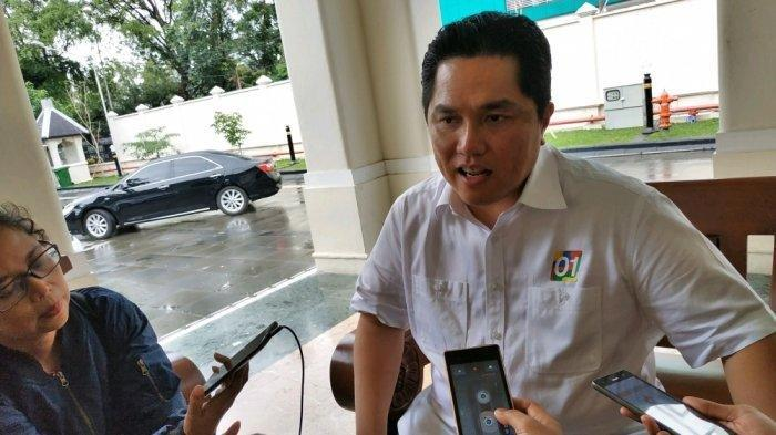Erick Thohir Mengaku Tidak Berpikir Soal Jabatan Menteri di Kabinet Jokowi-Maruf Amin