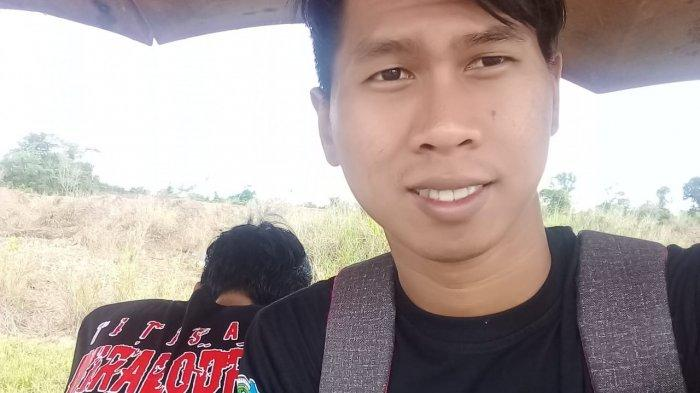 Mohammad Andi (26) warga Desa Limpas, Kecamatan Patrol, Kabupaten Indramayu sebelum menderita penyakit eritroderma.