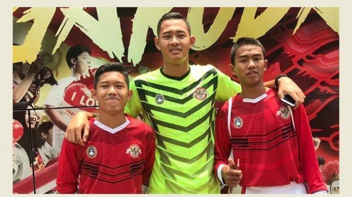 Begini Persiapan Kiper Muda Persib Bandung Erlangga Setyo Sebelum Berangkat ke TC Timnas