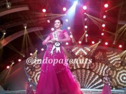 Elvira Devinamira dinobatkan sebagai Puteri Indonesia 2014