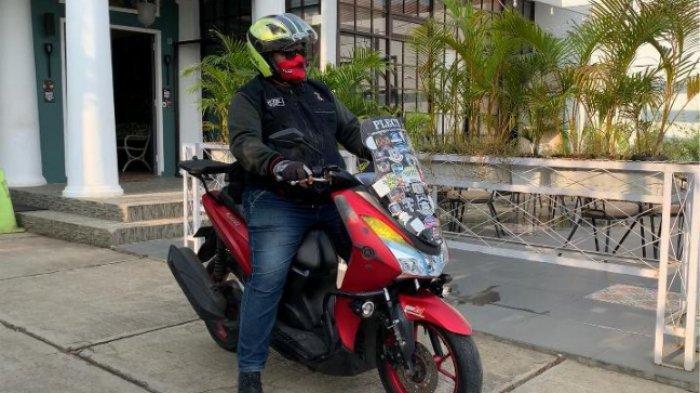 #BanggaMAXimal Riding Keliling Pulau Jawa, Anggota Komunitas Ini Buktikan Ketangguhan LEXi