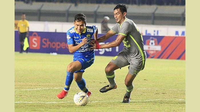 Winger Persib Bandung Ini Yakin Kondisinya Prima saat Latihan Perdana Nanti