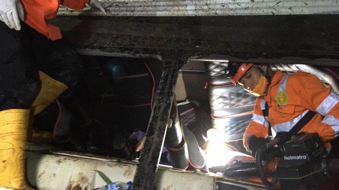 Sopir Bus Sebut Rem Blong, 2 Anak Selamat Setelah Terpental ke Belakang tapi 26 Orang Tewas