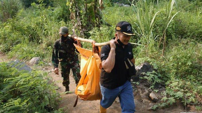 Cerita Warga saat Evakuasi Jasad Perempuan dari Hutan Sanghiang Poek, Jalan Kaki Naik Turun Bukit