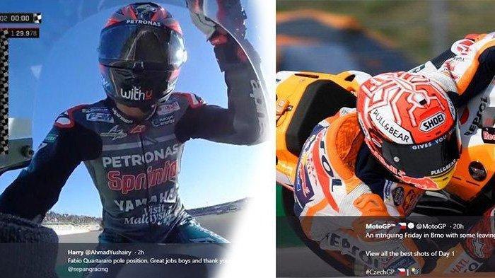 LIVE STREAMING TV Online Trans7 MotoGP Valencia Marc Marquez di Belakang Pembalap Yamaha Tonton Yuk!