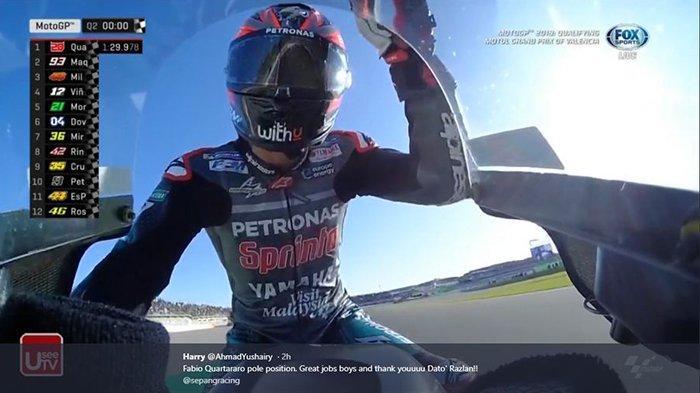 Kejutan dari MotoGP, Fabio Quartararo Gantikan Valentino Rossi di Yamaha