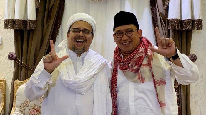 Imam Fpi Habib Rizieq Tak Bisa Pulang Fadli Zon Sebut Pemerintah Jokowi Gagal Padahal Sehari Beres Tribun Jabar