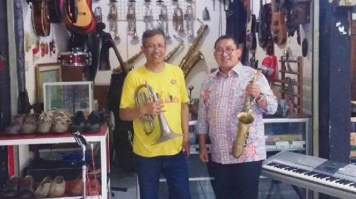 Ahmad Dhani Beli Saksofon di Pasar Cikapundung, Barang Antik, Usianya 100 Tahun