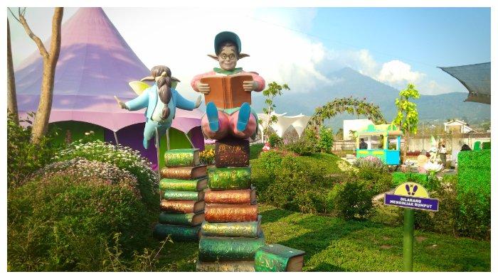 Fairy Garden Wisata Edukasi Dan Dunia Dongeng Bagi Anak Anak Di Cibodas Lembang Tribun Jabar