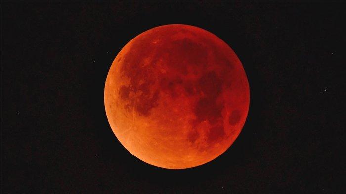 8 Fakta Gerhana Bulan Total 'Blood Moon', Gerhana Terlama Abad ini dan Aman Dilihat Mata Telanjang