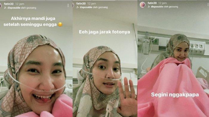 Fatin Shidqia tunjukkan foto terbarunya yang sedang dirawat.