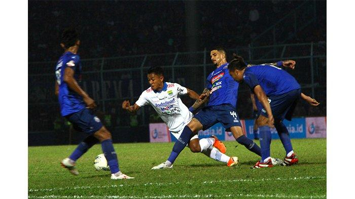 VIDEO, TV Online Live Streaming Indosiar Arema FC vs PSIS Semarang, Arema Kehilangan 2 Pemain Kunci