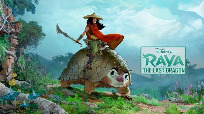 Film Animasi Raya and The Last Dragon Ternyata Terinspirasi dari Budaya Indonesia