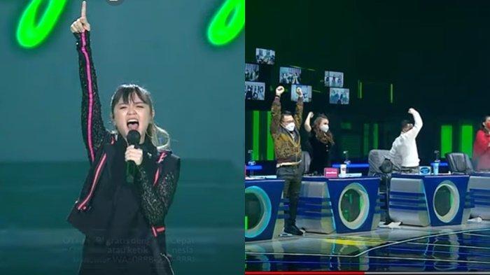 Fitri menjadi salah satu kontestan yang mencuri perhatian di Indonesian Idol 2021 Spekta Show Top 10, Senin (8/2/2021) malam.