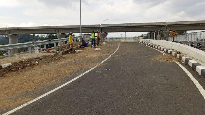 Rekayasa Lalu Lintas Sukses Dilakukan, Jelang Tiang Beton Pancang Jembatan Leuwigajah Baru Dipasang