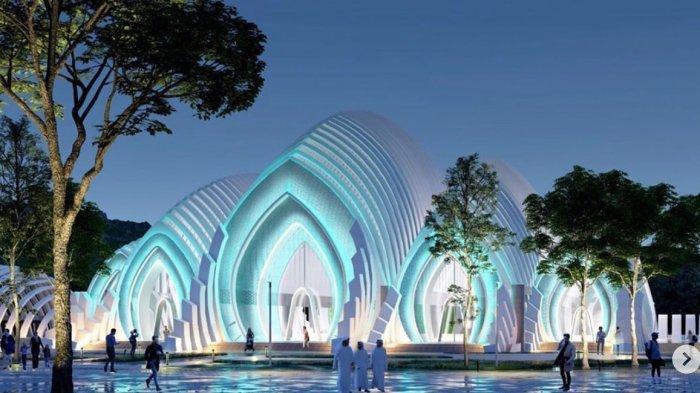 Megah, Sumbangan Desain Masjid Akbar untuk Warga Banyumas dari Ridwan Kamil, Lihat Foto-fotonya!