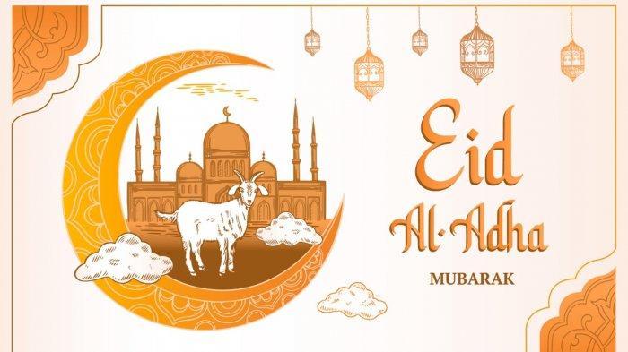 Gambar-gambar Menarik Ucapan Selamat Idul Adha 2021, Tinggal Download Lalu Update di Media Sosial