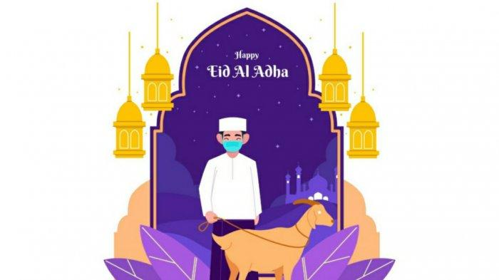 ilustrasi gambar menarik ucapan selamat Idul Adha 2021