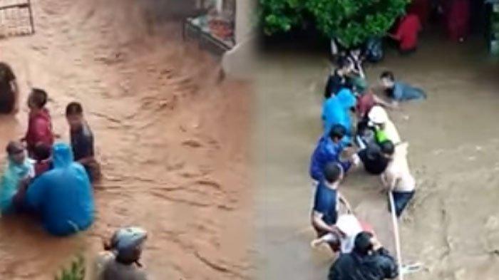 Banjir di Cijambe, Lurah Pasir Endah Sebut Karena Bagian Hulu Berubah Jadi Perumahan