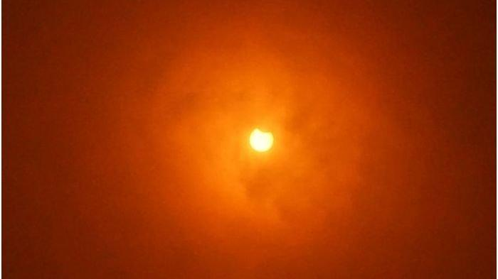 Gerhana Matahari Cincin Hanya Teramati 69 Persen di Kota Cimahi