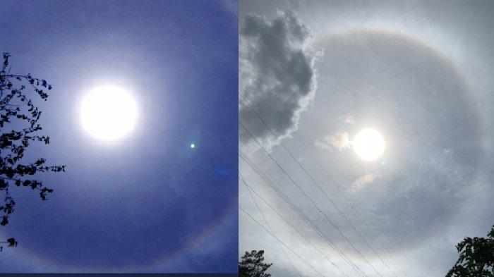 Fenomena Cincin Dekat Mahahari di Langit Bandung Bikin Heboh, Tanda Bahaya? ini Fakta Sebenarnya