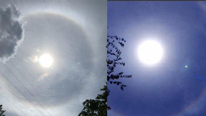 Heboh Fenomena Cincin Dekat Matahari di Langit Bandung, Benarkah Tanda Bahaya? Begini Penjelasannya