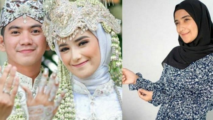 Foto mirip istri Rizki DA, Nadya Mustika yang tampak hamil besar viral di media sosial.