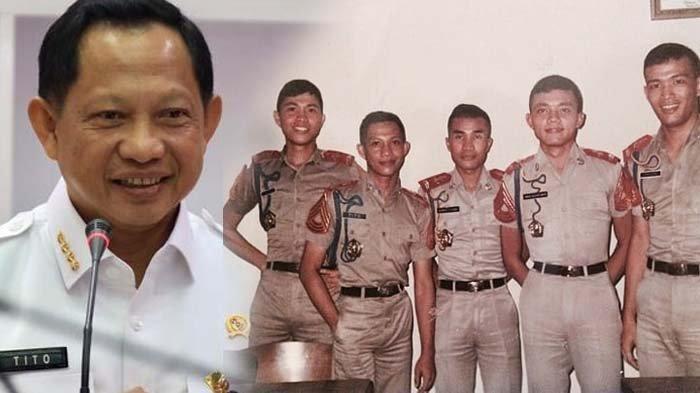Foto Jadul Mendagri Tito Karnavian Tersebar, Dulu Kurus tapi Ganteng Berkarisma,Kini Gagah dan Necis