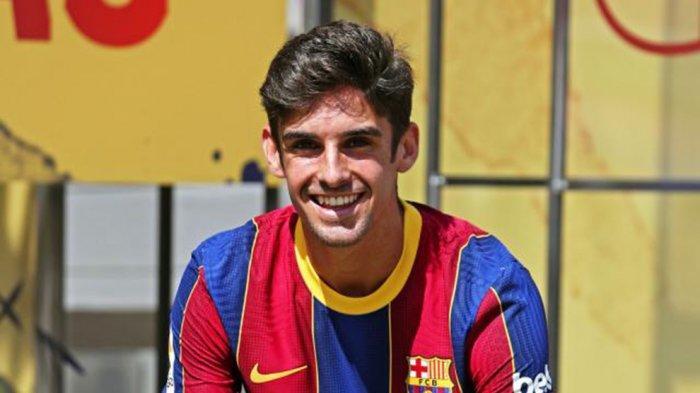 Sedang Bokek, Barcelona Bersedia Berikan Francisco Trincao ke AC Milan demi Pemain Ini