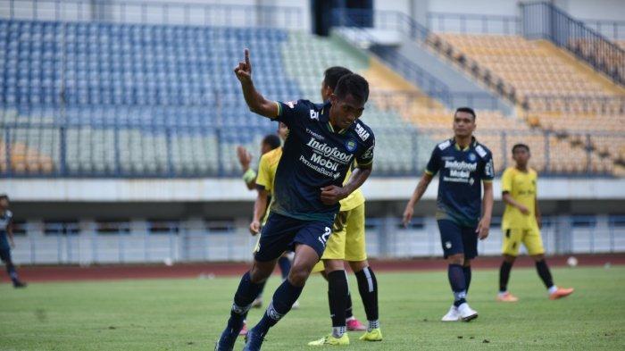 Selebrasi Beda Tim Persib Bandung Usai Cetak Gol Lawan Bali United, Ternyata Ini Artinya
