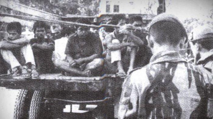 G30S Ditelikung, Gagak Hitam Beroperasi Buru Anggota PKI di Jawa Timur, Pasukan Berbaju Serba Hitam