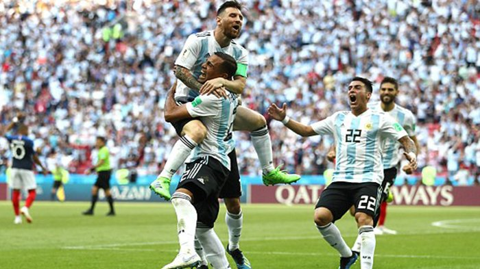 Gol 'Tak Sengaja' Mercado ke Gawang Prancis Buat Asa Argentina Semakin Besar ke Babak 8 Besar