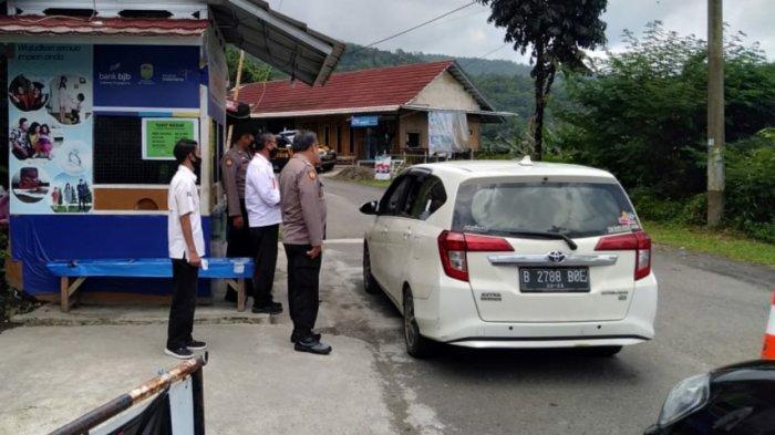 Cegah Covid-19 Saat Libur Panjang, Polsek Sukaratu Sosialisasi di Objek Wisata Gunung Galunggung