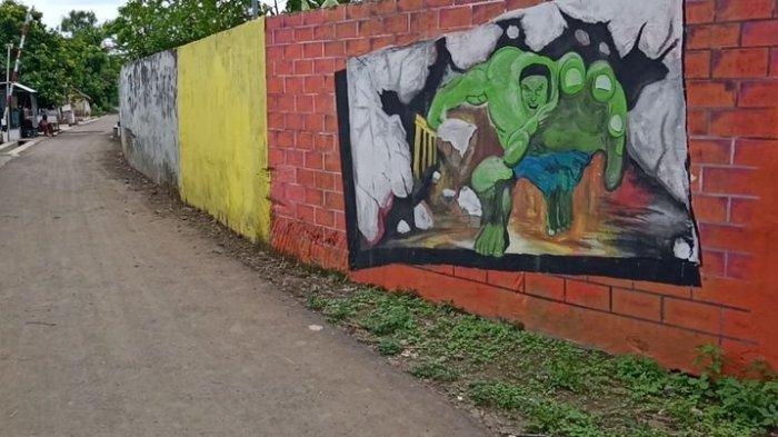 Ada Hulk di Tanggul Sungai Cimanuk Desa Pilangsari Indramayu, Dulu Jebol Kini Sudah Kuat
