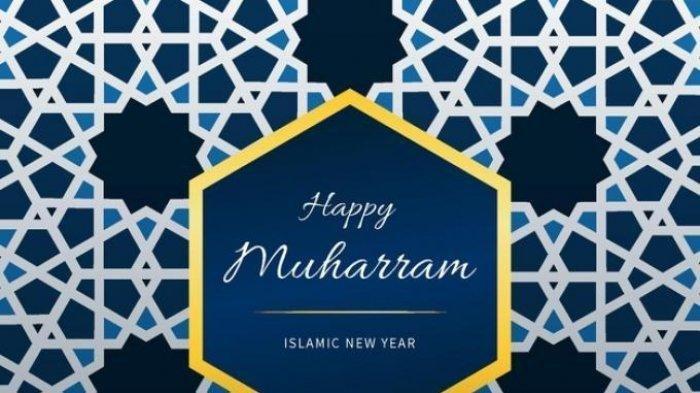 gambar menarik ucapan selamat Tahun Baru Islam 1443 H atau 1 Muharram