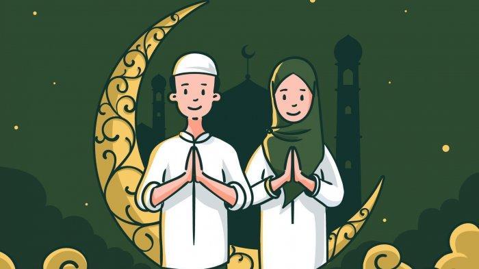 50 Gambar Ucapan Selamat Idul Fitri 2021 Tema Klasik dan Keluarga, Bagikan ke Saudara dan Teman