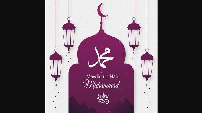 Gambar ucapan Maulid Nabi Muhammad