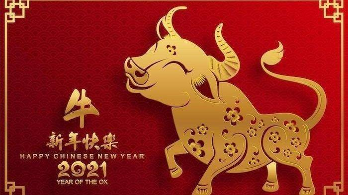 Gambar ucapan Tahun Baru Cina 2021
