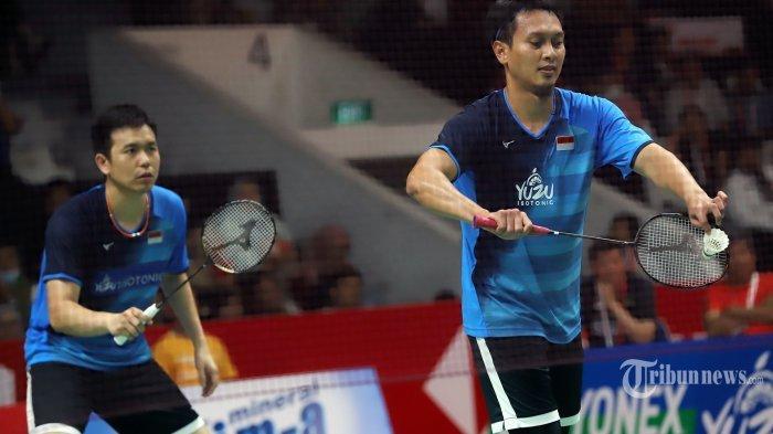 Hasil Thailand Open 2021 Pagi Ini, Mohammad Ahsan/Hendra Setiawan Melenggang ke Perempat Final
