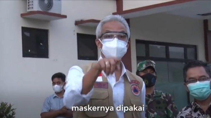 Ngeyelnya Mahasiswa di Semarang di Hadapan Gubernur, Tidak Mau Pakai Masker Meski Positif Covid-19