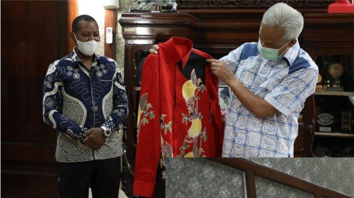 Gubernur Ganjar Dapat Undangan Khusus dari Rektor Universitas Cendrawasih untuk Hadiri PON XX