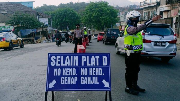 Aturan Ganjil Genap Kembali Diterapkan di Simpang Cileunyi, Hanya untuk Golongan Kendaraan Ini