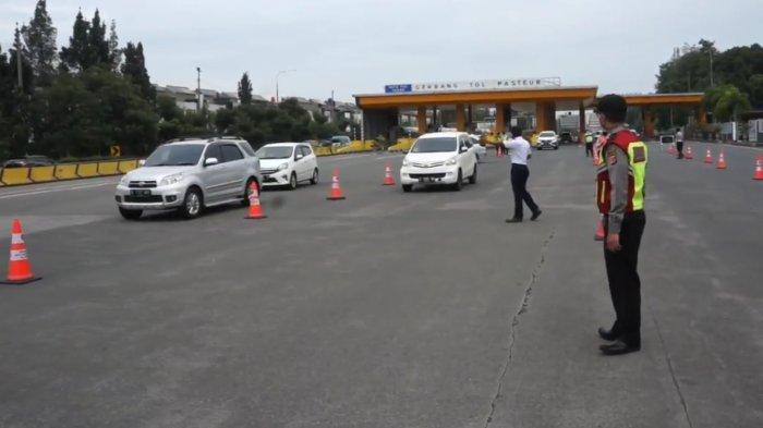 Mobil yang Terjaring Ganjil Genap di Pintu Tol Bandung Menurun, Bakal Diperluas ke Dalam Kota?