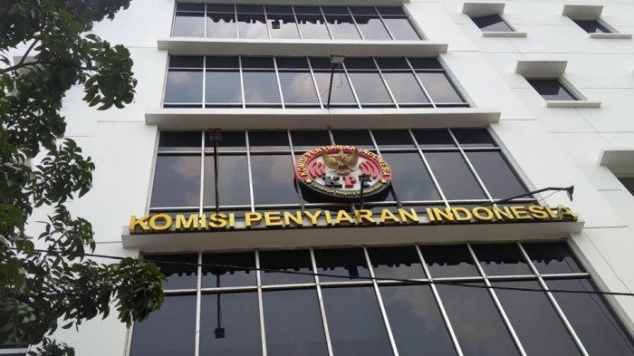 Gedung Komisi Penyiaran Indonesia (KPI) Pusat yang berlokasi di Jalan Ir. H. Juanda, Jakarta Pusat, Kamis (2/9/2021). [Rizki Sandi Saputra]