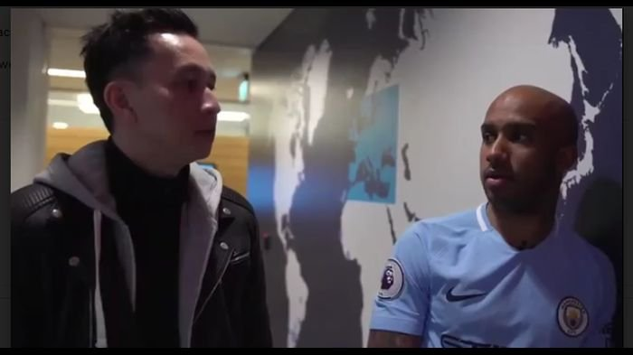 Unik! Akun Media Sosial Manchester City Unggah Video Mirip Dilan