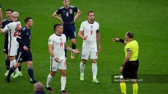 Hasil Inggris vs Skotlandia, Komentar Harry Kane Soal Dirinya Ditarik Gareth Southgate